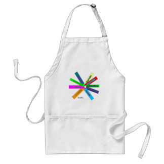 Creativity Thesaurus Wheel-French Adult Apron