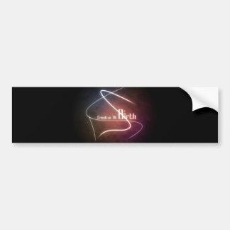 Creativo en la pegatina para el parachoques del na pegatina de parachoque