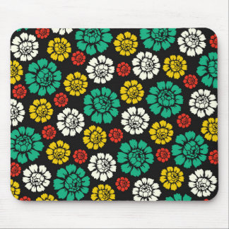 Creativo floral simple increíble tapetes de ratones