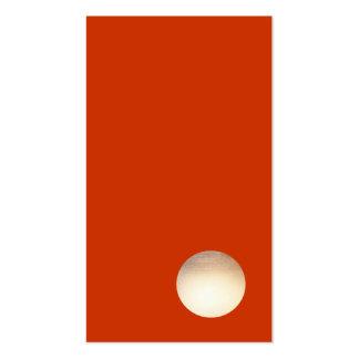 Creativo fresco del falso de oro del zen círculo tarjetas de visita