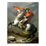 Creator:Jacques-Louis David Napoleon ?berschreitet Postcard
