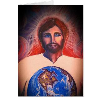 Creator, Judge, Savior of the World Card