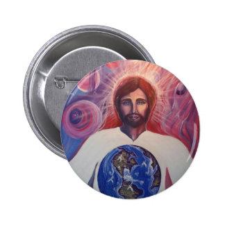 Creator, Judge, Savoir of the World Button