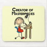 Creator of Masterpieces Tshirts and Gifts Mouse Pad