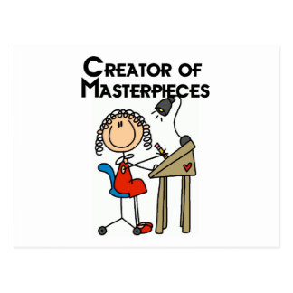 Creator of Masterpieces Tshirts and Gifts Postcards