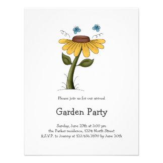 Creator s Canvas · Yellow Flower Personalized Invite