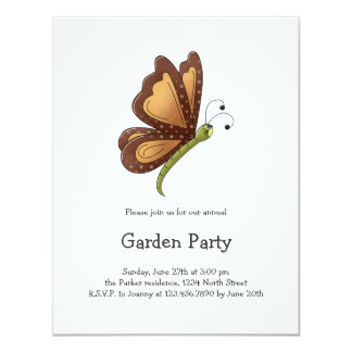 Creator's Canvas · Caramel Brown Butterfly Card