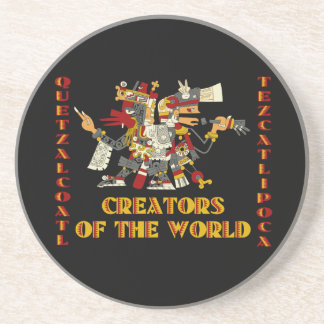 Creators of the World Drink Coaster