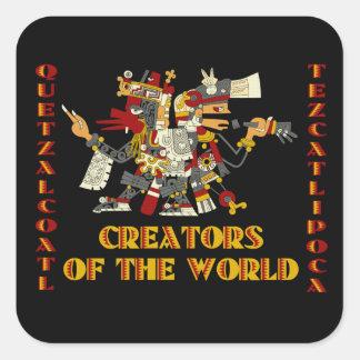 Creators of the World Square Sticker