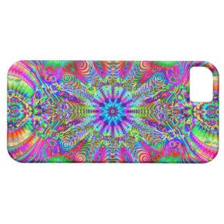 Creatrip cósmico - diseño trippy psicodélico iPhone 5 carcasa