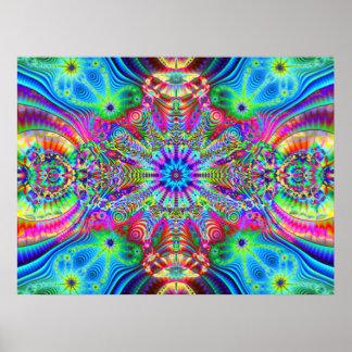 Creatrip cósmico - representaciones visuales tripp impresiones