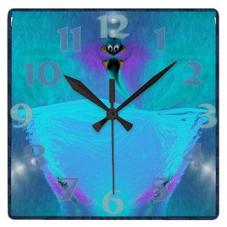 Creature Consciousness Square Clock