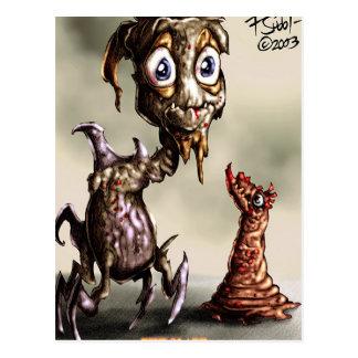 creature crawler postcard