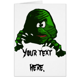 Creature from the Black Lagoon Greeting Card