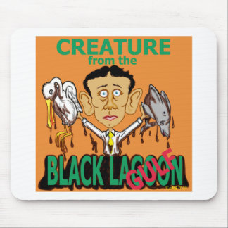 Creature from the Black Lagoon (Gulf) Mouse Pad