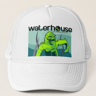creature from waterhouse lagoon trucker hat