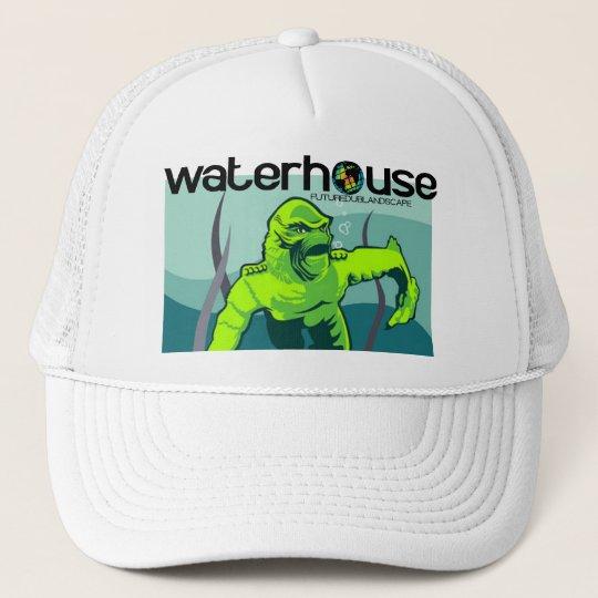 creature from waterhouse lagoon trucker hat