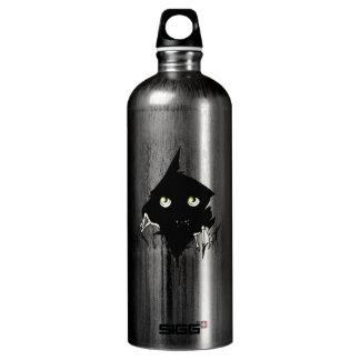Creature in the Dark Aluminum Water Bottle