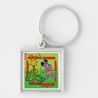 Creature, king of the jungle design keychain