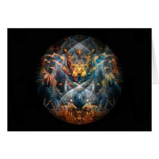 Creature Mandala Totem Card