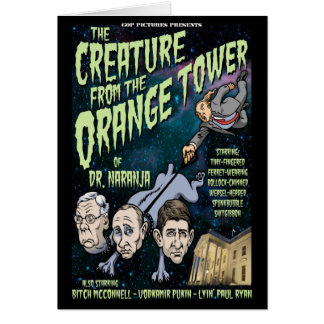 Creature of Dr. Naranja Card