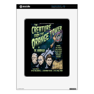 Creature of Dr. Naranja Decals For The iPad