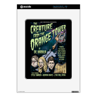 Creature of Dr. Naranja II Decal For The iPad