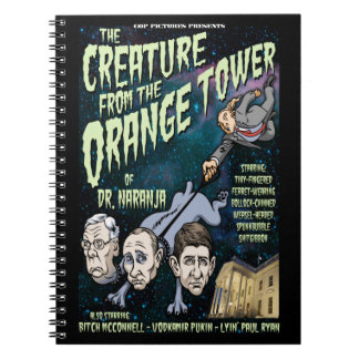 Creature of Dr. Naranja Notebook