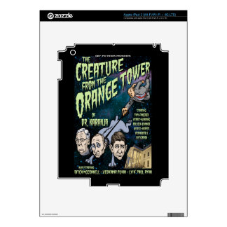 Creature of Dr. Naranja Skin For iPad 3