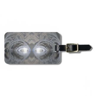 Creature of the Lake Silver Luggage Tags