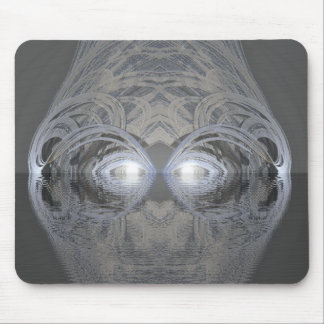 Creature of the Lake Silver Mouse Pad
