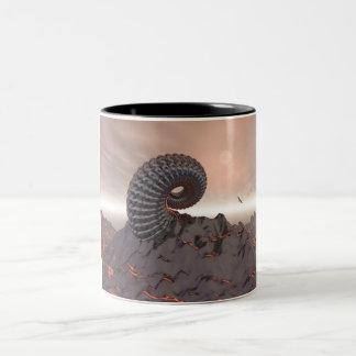 Creature of The Mountain Two-Tone Coffee Mug
