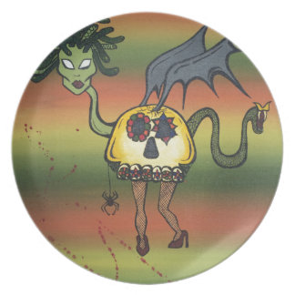 Creature of the Night Dinner Plates