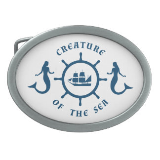 Creature of The Sea Belt Buckle