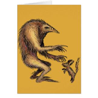 Creature vs. Doggie Card