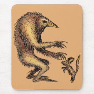 Creature vs. Doggie Mouse Pad