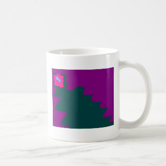 creature with an eye classic white coffee mug