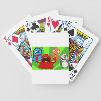 creatures-1614 bicycle playing cards