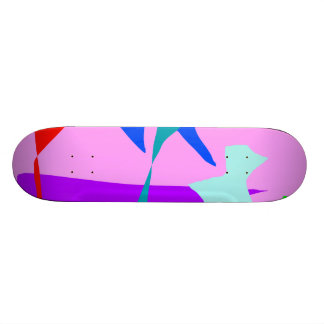 Creatures Adored by Every God Send Messages Skate Board Deck