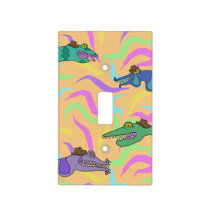 Creatures and Worms Light Switch Cover