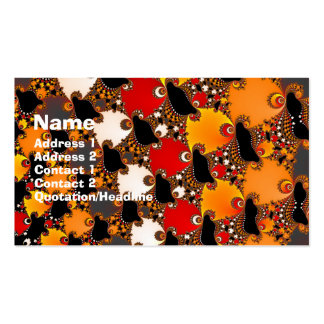 Creatures Double-Sided Standard Business Cards (Pack Of 100)