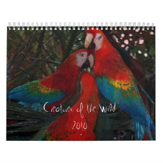 Creatures of the Wild Calendar