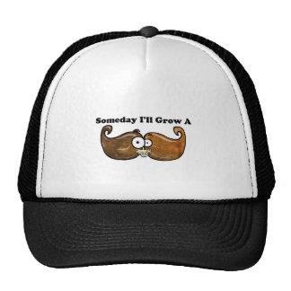 Creceré algún día un bigote gorros