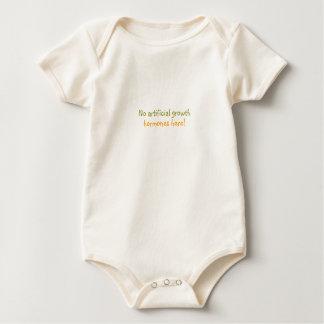 Crecido orgánico mameluco de bebé