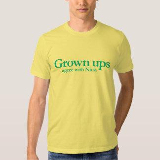 Crecido sube están de acuerdo con Nick Remera