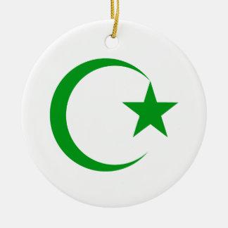 Creciente verde y Star png Ornaments Para Arbol De Navidad