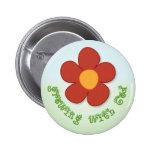 Crecimiento con el botón de dios pin