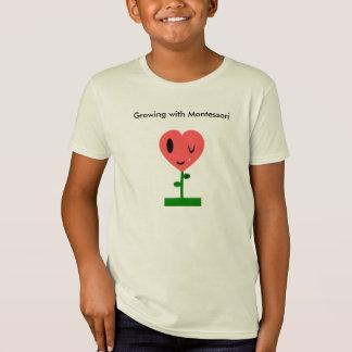 Crecimiento con Montessori Playera