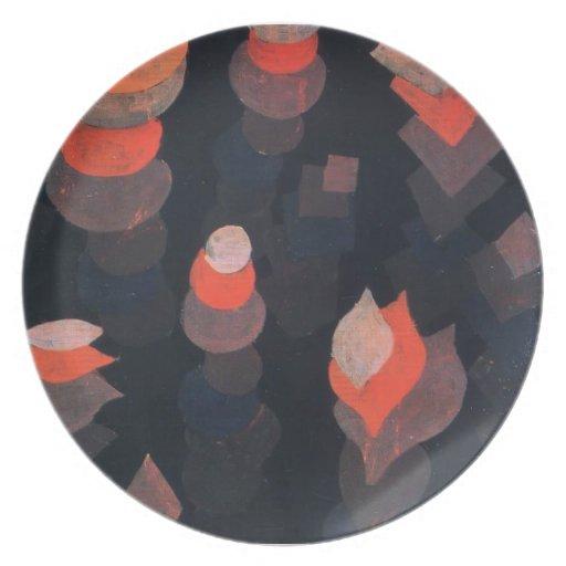 Crecimiento de Paul Klee- de las plantas de la Plato De Comida