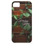 Crecimiento verde iPhone 5 protectores